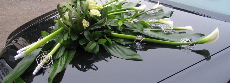 Blumen Autodekoration